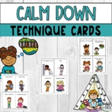 Calm Down Strategies & Techniques for Kids Printable Pictu