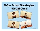 Calm Down Strategies Visual Cues