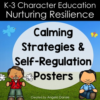 Calm Down Strategies and Self-Regulation Posters
