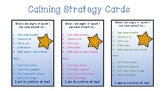 Student Calm Down Strategy Cards