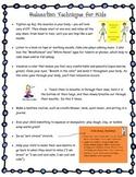Calm Down Corner Tricks and Calm Down Information Sheet