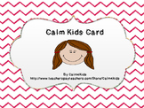 Calm Kids Card #1: The Jelly