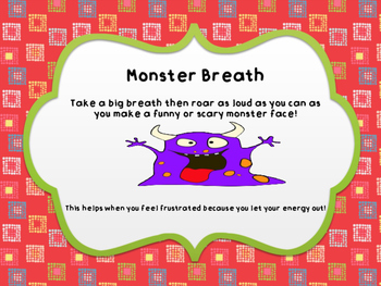 Calm Kids Card #2: Monster Breath