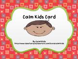 Calm Kids Card #2: Monster Breath