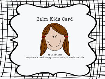 Calm Kids Card #5: Calming Critters