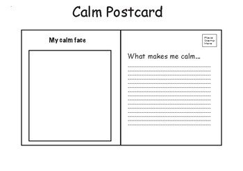 Calm Postcard