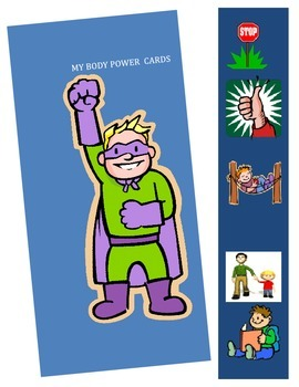 Calm Body/Ready Mind: using power cards +social story for autism needs