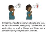 Calm corner- Social Story
