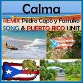 CALMA - Spanish Song & Culture Unit - PUERTO RICO - Pedro