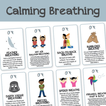 Calming Breath Cards