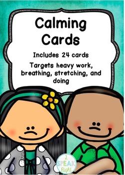 Calming Cards