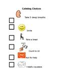 Calming Checklist