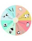 Calming Choices Wheel
