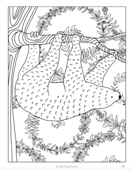 Calming Coloring Pages For Kids Animals