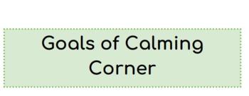 Calming Corner