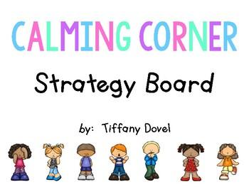 Calming Corner Strategy Board