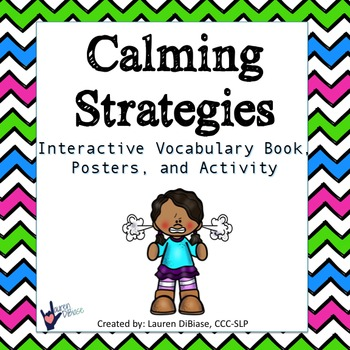 Calming Down Strategies Packet