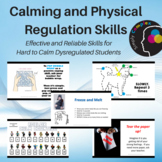 Calming & Physical Regulation Skills BUNDLE; Effective for Hard to Calm Students