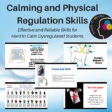 Calming & Physical Regulation Skills BUNDLE; Effective for
