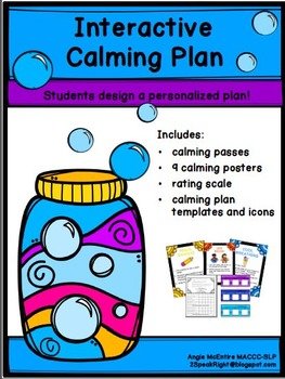 Calming Plan For Students