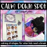 Calm Down Spot - Calming Strategies