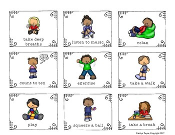 Calming Strategies:  Activities for the Classroom