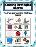 Calming Strategies Boards