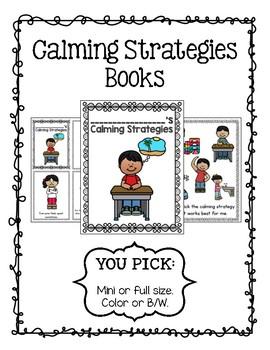 Calming Strategies Books