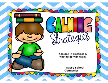Calming Strategies Bundle