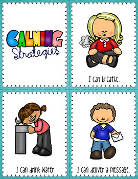 Calming Strategies Cards
