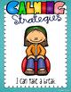 Calming Strategies Cards