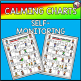 Calming Strategies Chart! Self-Assessment