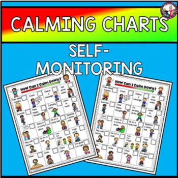 Calming Strategies Chart! Self-Assessment