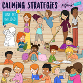 Calming Strategies Clipart for Coping