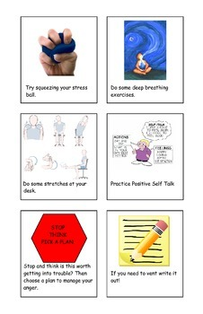 Calming Strategies Flipbook