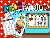 Calming Strategies Interactive Bulletin Board & Visuals