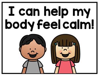 Calming Strategies Mini Posters