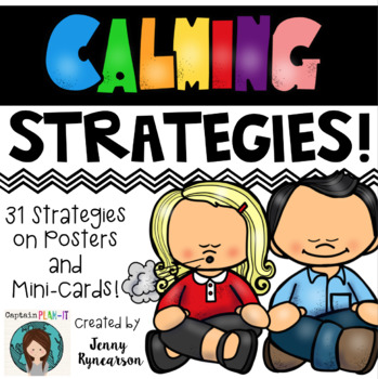Calming Strategies POSTERS!