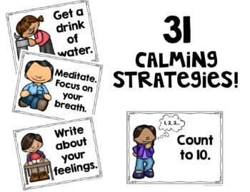 Calming Strategies POSTERS!