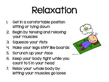 Calming Strategies Posters