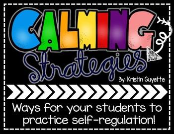 FREEBIE: Calming Strategies Posters