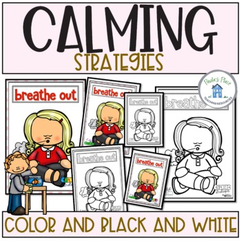 Calming Strategies - Posters