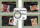 "Calming Strategies Posters with ""Peace Place"" Banner"