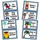 Calming Strategies/Coping Skills Printable Cards