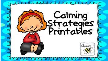 Calming Strategies Printables