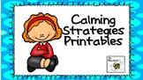 Problem Behavior Cool Down Strategies - Printables