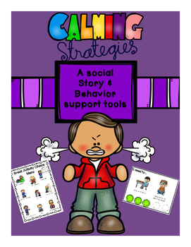 Calming Strategies Social Story/Behavior Support Tools-Autism
