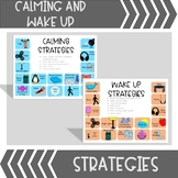 Calming Strategies Visuals BUNDLE  (use with Zones of Regulation)
