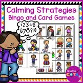 Calming Strategies Bingo Activity