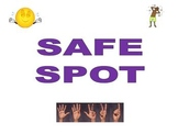 Calming Strategies and Safe Spot Posters